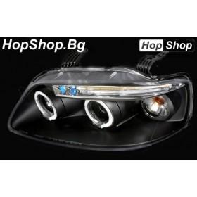 Кристални фарове Chevrolet Aveo (2003-2006) - хром от HopShop.Bg.