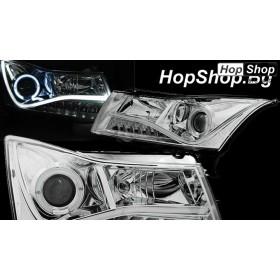Кристални фарове Chevrolet Cruze (2009-2012) - хром от HopShop.Bg.