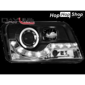 Фарове за FIAT PANDA (03-09) - черен от HopShop.Bg.