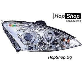 Фарове за Ford Focus (01-03) - бели от HopShop.Bg.