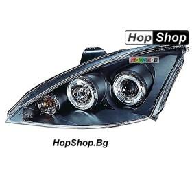 Фарове за Ford Focus (2001-2003) - черни от HopShop.Bg.