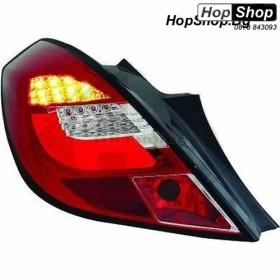 Стопове Диодни за OPEL CORSA D (2006-2010) - червени Ledbar design - 3 врати от HopShop.Bg.