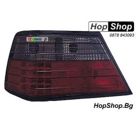 Стопове за Mercedes 124 (85-96) - кристални с диоди - тъмни от HopShop.Bg.