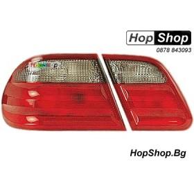 Стопове за Mercedes E Class (95-01) - кристални - тъмни от HopShop.Bg.