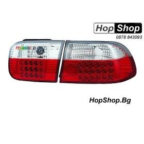 Стопове за Honda Civic 3D (92-95) - кристални с диоди от HopShop.Bg.