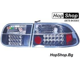 Стопове за Honda Civic 3D (92-95) - черни с диоди от HopShop.Bg.