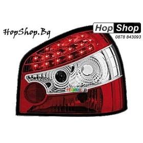 Стопове за Audi A3 (96-00) с диоди - червен от HopShop.Bg.