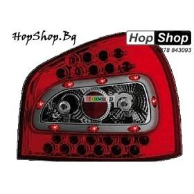 Стопове за Audi A3 (96-00) диодни - червени от HopShop.Bg.