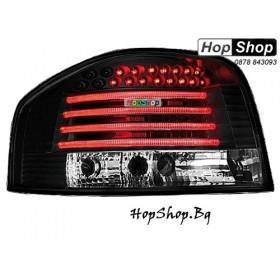 Стопове за Audi A3 (03-08) с диоди - черни от HopShop.Bg.