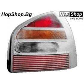 Стопове за Audi A3 (96-00) - хром - бели - (6) от HopShop.Bg.