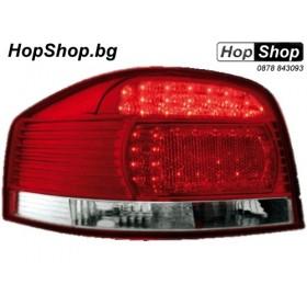 Диодни стопове AUDI A3 (03-08) - червени от HopShop.Bg.