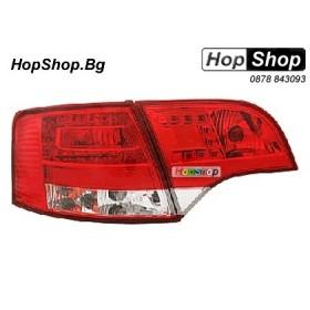 Стопове Audi A4 (04-07) Wagon диод-кристал от HopShop.Bg.