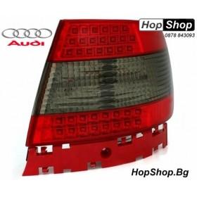 Диодни стопове за AUDI A4 седан (95-01) - опушени от HopShop.Bg.