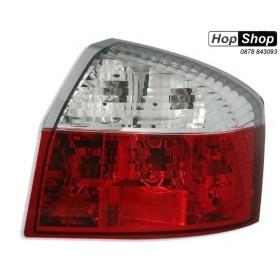 Кристални стопове за AUDI A4 седан (2001-2004) - червени от HopShop.Bg.