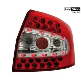 Диодни стопове за AUDI A4 седан (2001-2004) - червени диодни от HopShop.Bg.