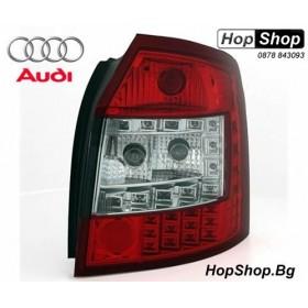 Диодни стопове за AUDI A4 комби (2001-2004) - червени SW от HopShop.Bg.