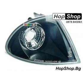 Мигачи предни за BMW E46 4D (99-02) - черни от HopShop.Bg.
