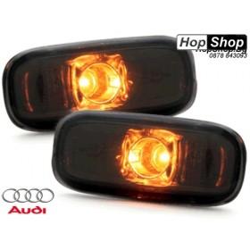 Мигач страничен Audi A3 (2001-)  Audi A4 (2001-)  A6 (1997-2001) черен от HopShop.Bg.
