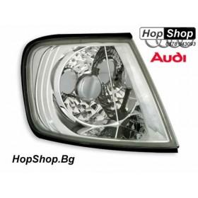 Кристални мигачи фар за Ауди А3 (1995-2000) - хром от HopShop.Bg.