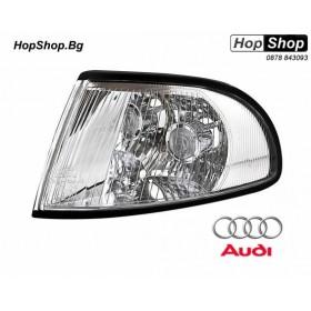 Кристални мигачи фар за AUDI A4 (95-98) - хром от HopShop.Bg.