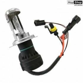Биксенонова  крушка Н4 6000K 35W  - Гаранция 1 месец от HopShop.Bg.