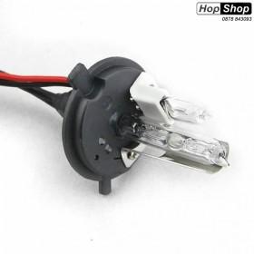 Ксенонова крушка Н4 4300K 35W за къси и халоген за дълги светлини - Гаранция 6 месеца от HopShop.Bg.