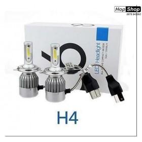 Диодни крушки ( лед крушки ) Н4 за къси и дълги светлини - H4 36W, 8V-48V от HopShop.Bg.