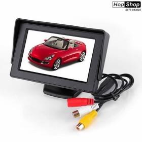 """Цветен LCD дисплей 4,5"""" за камера за задно виждане от HopShop.Bg."""