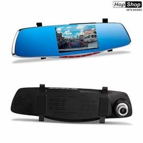 """Видеорегистратор 1080 FULL HD с 5"""" LCD дисплей, камера за задно виждане и G-Sensor от HopShop.Bg."""
