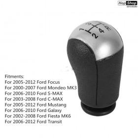 Топка скоростен лост FORD FOCUS , MONDEO , S-MAX , C-MAX (03-08), GALAXY (06-10), FIESTA (02-08), TRANSIT (06-12) от HopShop.Bg.