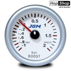 Измервателен уред за турбото  Boost Meter от HopShop.Bg.