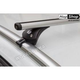 Алуминиев багажник Audi A3 Hatchback 04-12г с интегрирани греди - Boss Aero от HopShop.Bg.