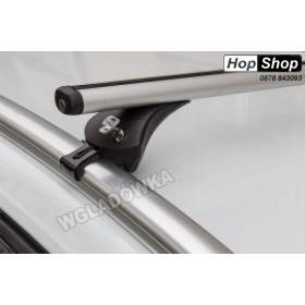 Алуминиев багажник Audi A4 Avant 08-15г с интегрирани греди - Boss Aero от HopShop.Bg.