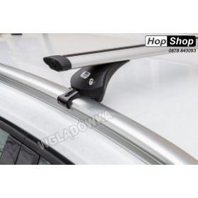 Алуминиев багажник Audi A4 Avant 08-15г с интегрирани греди - Boss Dynamic от HopShop.Bg.