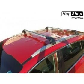 Багажник напречни греди за BMW с вградени надлъжни релси - Със заключваща система от HopShop.Bg.