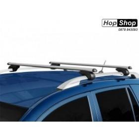 Алуминиев багажник за Toyota Avensis Verso с рейлинги 01г-06г - Carface от HopShop.Bg.