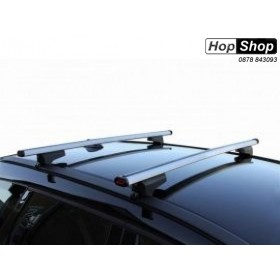 Багажник алуминиев за Opel Astra J Sports Tourer с рейлинги - Clop от HopShop.Bg.