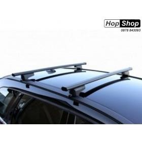 Багажник за Mitsubishi Outlander 2 с рейлинги - Clop от HopShop.Bg.