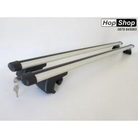 Багажник алуминиев за Subaru Forester SH с рейлинги 08г-12г - Care от HopShop.Bg.