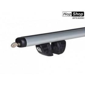 Багажник алуминиев за Chevrolet Cruze хечбек с рейлинги 01г-10г - Futura 1.2 от HopShop.Bg.