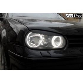 Ангелски Очи CCFL  за VW GOLF 4 - бял цвят от HopShop.Bg.