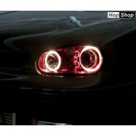 Ангелски Очи CCFL  за VW GOLF 4 - Червен цвят от HopShop.Bg.