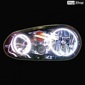 Диодни Ангелски Очи за VW GOLF 4 - Бял цвят от HopShop.Bg.