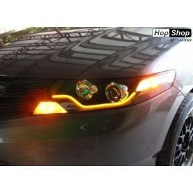 Лед Лайтбар дневни светлини и мигач 45см - без гаранция от HopShop.Bg.