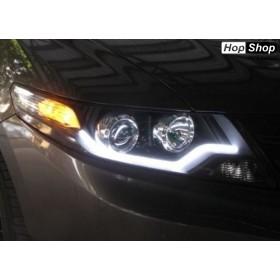 Лед Лайтбар дневни светлини - с бягащ мигач от HopShop.Bg.