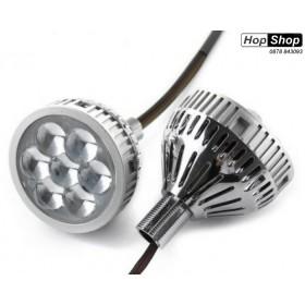 Диодни светлини с лупи дневни светлини и дълги светлини 2.5 инча - за вграждане от HopShop.Bg.