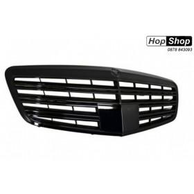 Решетка за Мерцедес W221 S-Class (2005-2010) -  АМГ Дизайн черна от HopShop.Bg.