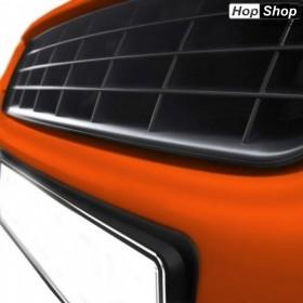 Решетка без емблема за Опел Омега Б (1994-1999) - черна от HopShop.Bg.