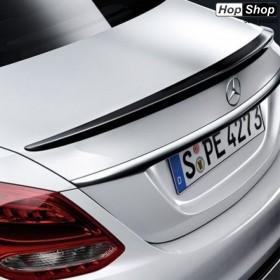 Лип спойлер багажник Mercedes W205 C-Class (2014+) - AMG Design от HopShop.Bg.