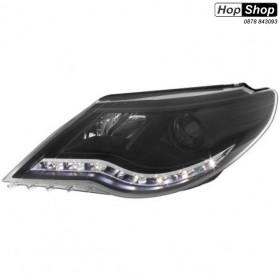 Кристални фарове VW PASSAT  CC  (2008-2012)  - черни от HopShop.Bg.